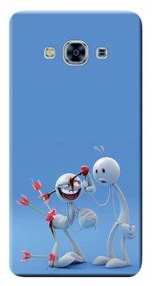 Samsung Galaxy J3 Pro 2016 Kılıf Sm J3110 Silikon Baskılı Valenti