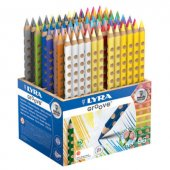 Lyra Groove Kuru Boya 96 Lı Okul Paketi (24 Renk X 4 Adet)