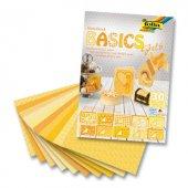 Folia Motivblock Dekoratif Kartonlar 24x34 Cm. 30 Yaprak Basics Y