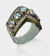 Kraliçe Taç 925 Ayar Gümüş Bayan Yüzük