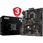 Msı Z370 A Pro Ddr4 S+v+gl 1151p8