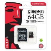 Kingston 64gb Micro Sdhc Uhs 1 Cl10 Sdcs 64gb