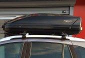 Araç Üstü Bagaj Taşıyıcı Tabut Siyah 370 Lt Perflex Journey