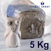 Seramik Heykel Model Kili Vakumlu Beyaz Çamur 5 Kg