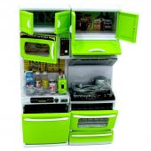 Modern Yeşil İkili Mutfak Set