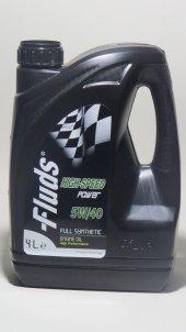 Fluds Hıgh Speed Power 5w 40 4 Lt Benzinli Dizel Motor Yağı
