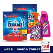 Finish Hepsi 1 Arada Tablet 94x2 Yıkama Cillit Bang Banyo Ve Van