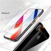 Iphone X Ön Ve Arka Komple Kırılmaz Koruyucu Temperli Cam
