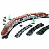 ışıklı Sesli Hızlı Büyük Tren Seti