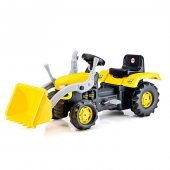 Kepçeli Traktör Pedallı
