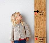 Ceebebek Montessori Ahşap Duvar Boy Cetveli Bebek Çocuk Odası Hatıra Anı Not Panosu Ücretsiz Kargo