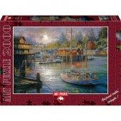 Art Balıkcı Rıhtımı 2000 Parca Puzzle