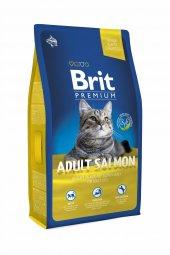 Brit Premium Cat Somonlu Yetişkin Kedi Maması 8 Kg