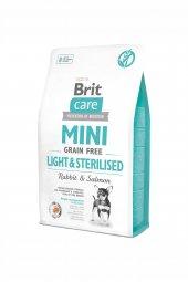 Brit Mini Tahılsız Light Ve Kısırlaştırılmış Köpek Maması 2 Kg