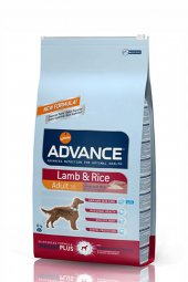 Advance Dog Kuzu Etli Pirinçli Köpek Maması 3 Kg