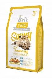 Brit Care Cat Sunny Parlak Tüyler İçin Somonlu Kedi Maması 2 Kg