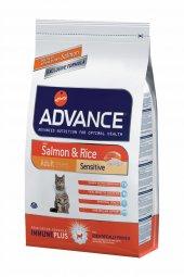 Advance Cat Somonlu Hassas Yetişkin Kedi Maması 15 Kg