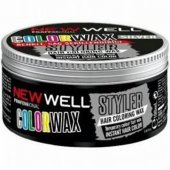New Well Colorwax Pink Renkli Saç Şekillendirici 100 Ml