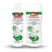 Bio Petactive Çay Ağacı Özlü Yağlı Köpek Şampuanı 250 Ml