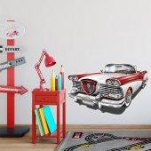 Dekorloft Nostalji Araba Çocuk Odası Sticker Cs 512