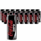 Coca Cola Zero 250 Ml X 24 Adet