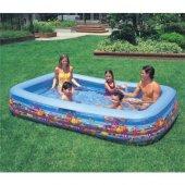 Intex 58485 Büyük Boy Deluxe Aile Havuzu (305 X 183 X 56 Cm)