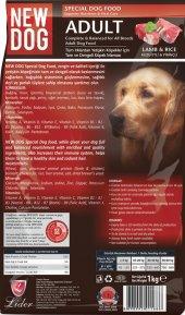 Newdog, Köpek Maması, 1 Kg Açık Taze Ucuz Lezzetli, Kuzu Etli Ve Pirinçli Mama, Pet