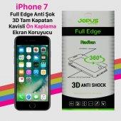Jopus İphone 7 Tam Kapatan Kavisli Ön Yüz Anti Şok Film Kılıf
