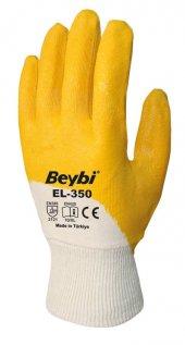 Beybi Nitril Eldiven, 60 Adet Fiyatı, El 350 Nitril Eldiven,iş Ve Usta Eldiveni, Renk Sarı,beyaz, No 9 Veya 10