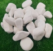 Beyaz Dolomit Taş 1 Kg 2,5 4 Cm Beyaz Dolamit Taşı Dere Taşı Çakıl Taşı Doğal Taş Bahçe Taşı Dekorasyon Taşı Süs Taşı Dekor Taşı