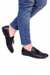 Detector Siyah Hakiki Deri Corcik Erkek Casual Ayakkabı