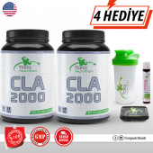 2 Adet Torq Nutrition Cla 2000 100 Kapsül Skt 01 2021