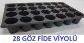 Fide Yetiştirme Kabı 28 Gözlü 10 Adet Çimlendirme Viyolü Plastik Fide Viyolü Fide Viyolü Fide Viyol Tohum Çimlendirme Kabı