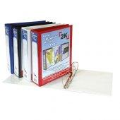 Kraf D Mekanizmalı Klasör 3cm 2 Halka 1032 Beyaz Kod 22030