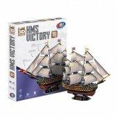 Hms Victory Gemisi 189 Parça 3d Maket Puzzle 100 Orijinal