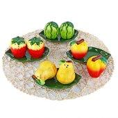 Meyve Figürlü 2 Li Tuzluk Biberlik