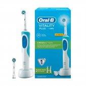 Oral B Vitality Plus Şarj Edilebilir Diş Fırçası+1 Yedek Başlık