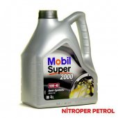 Mobıl Super 2000 X1 10w 40 4 Lt Benzinli Dizel Motor Yağı