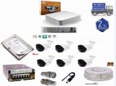 8 Kanal Dvr Cihazı+ 6 Cn 2042 Fullhd Kamera Full Set