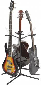 üçlü Gitar Standı Cremonia Stg103 Gitar Sehpası Ve Saz Bağlama