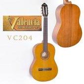 Valencia Vc 204 4 4 Klasik Gitar Set