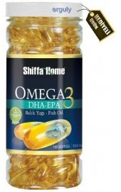 Shiffa Home Omega 3 Balık Yağı 200 Softgel