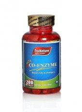 Trunature Coenzyme Q10 100 Mg + Royal Jelly 200 Mg 200 Kapsul