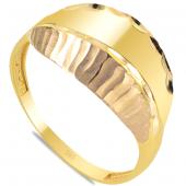 Cigold 14 Ayar Taşsız Yüzük Yzt02