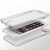 ıphone 7 Plus 360 Derece Koruyucu Şeffaf Kapak + Tamper Ekran Cam Filmi