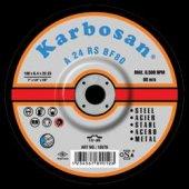 Karbosan.5 Adet Fiyatı 180 X 6 X 4 Metal Taşlama Diski