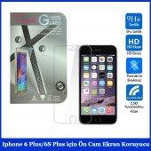 ıphone 6 Plus 6s Plus İçin Ön Cam Ekran Koruyucu