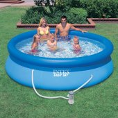 Intex 28121 305x76 220v Filtreli Şişme Aile Havuzu
