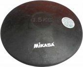 Mikasa 1,5 Kg Siyah Kauçuk Disk