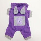 Teddy Purple By Kemique Kedi Kıyafeti